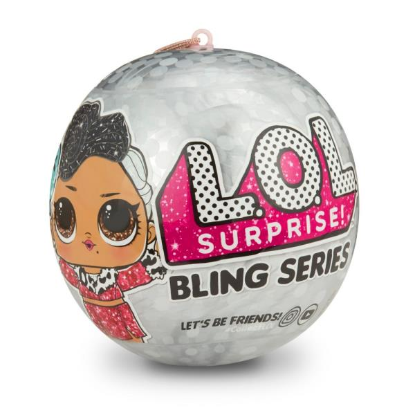 GUARANTEED GOLD BALL! SHIPS TODAY! NEW 2018 LOL Surprise Bling Series