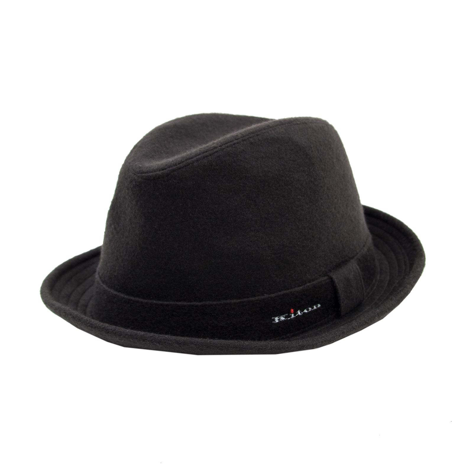 c10b3104 Details about NWOT Kiton Napoli Chocolate Brown Cashmere Silk Lined Fedora  Hat 59 EU/ 7 3/8 US