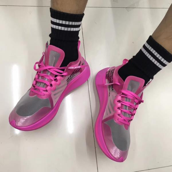 ab1de234dee9f Off-White X Nike Zoom Fly SP Pink Size 7 8 9 10 11 12 Mens Shoes AJ4588-600