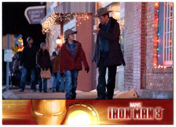 Details about Tony Chatting To Harley #45 Iron Man 3 Upper Deck 2013 Marvel  Trade Card (C2071)