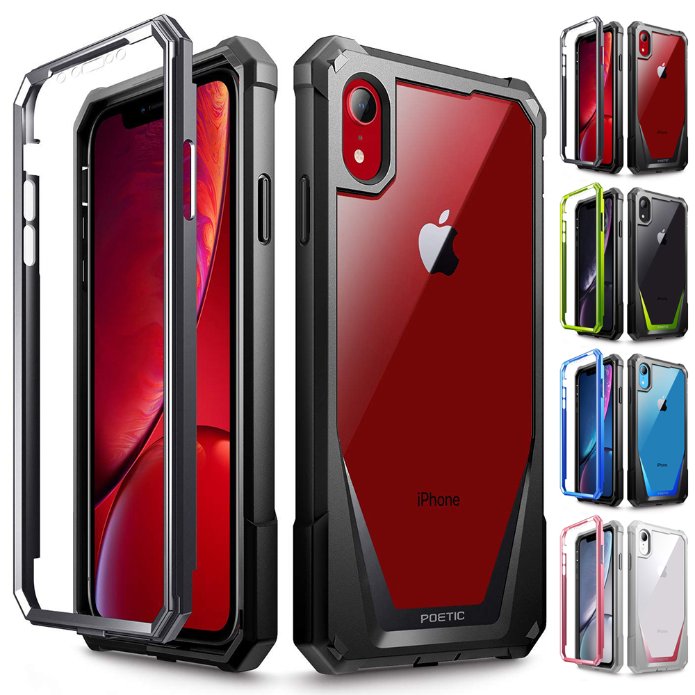 Case For Apple Iphone Xr Shockproof Cover Anti Scratch Clear Back Protector Ebay