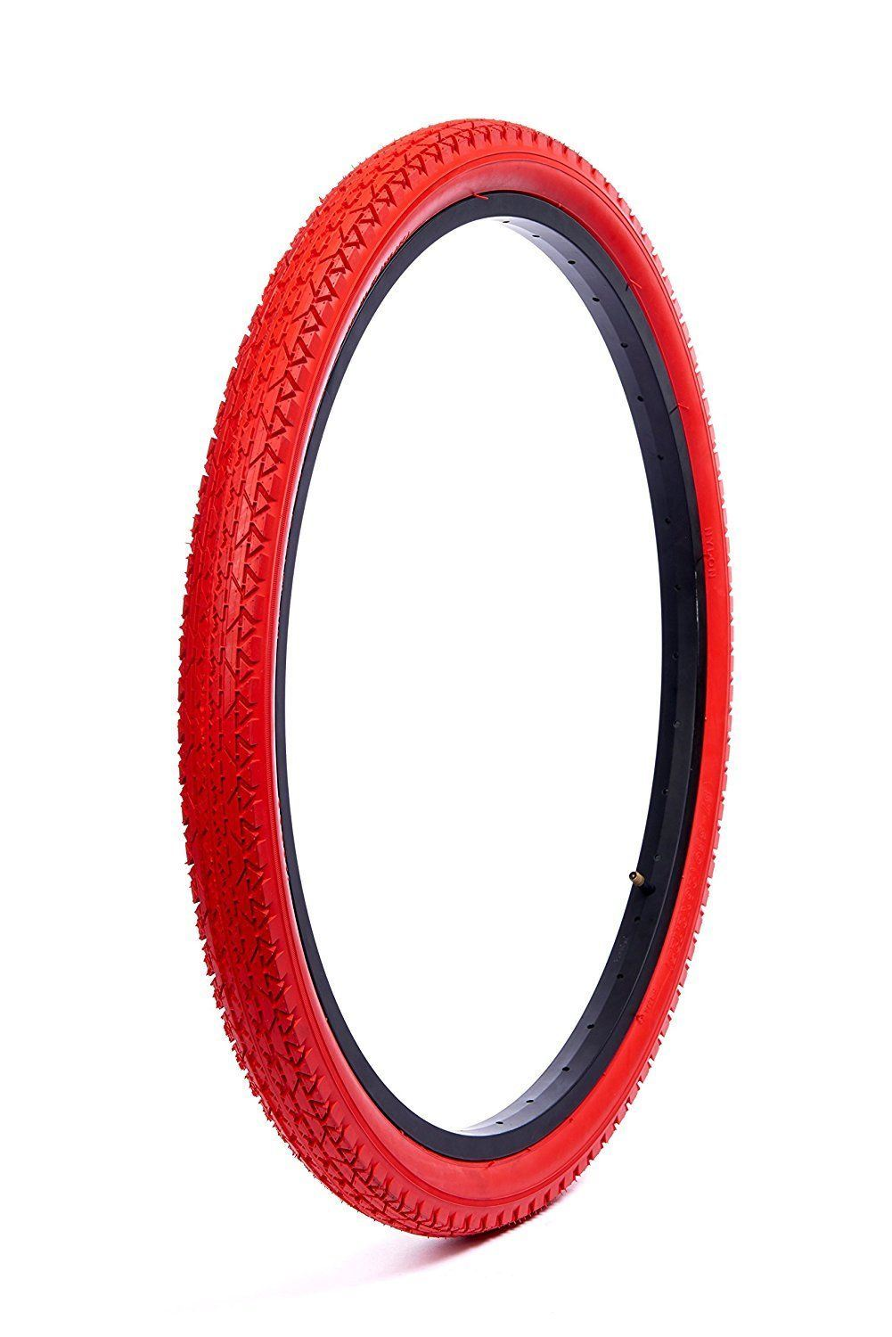 WANDA 26 x 2.125 BICYCLE TIRE BEACH CRUISER BIKE DIAMOND VINTAGE P-123A FURY RED