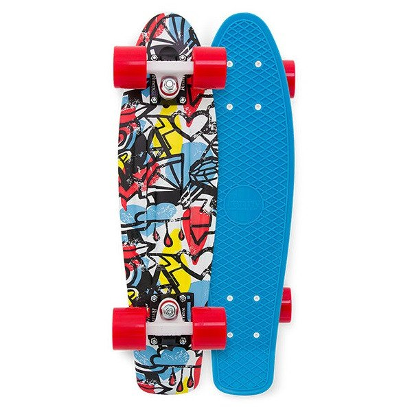 Penny Skateboard Complete Comic Fusion RRP $159.99 FREE POST NEW