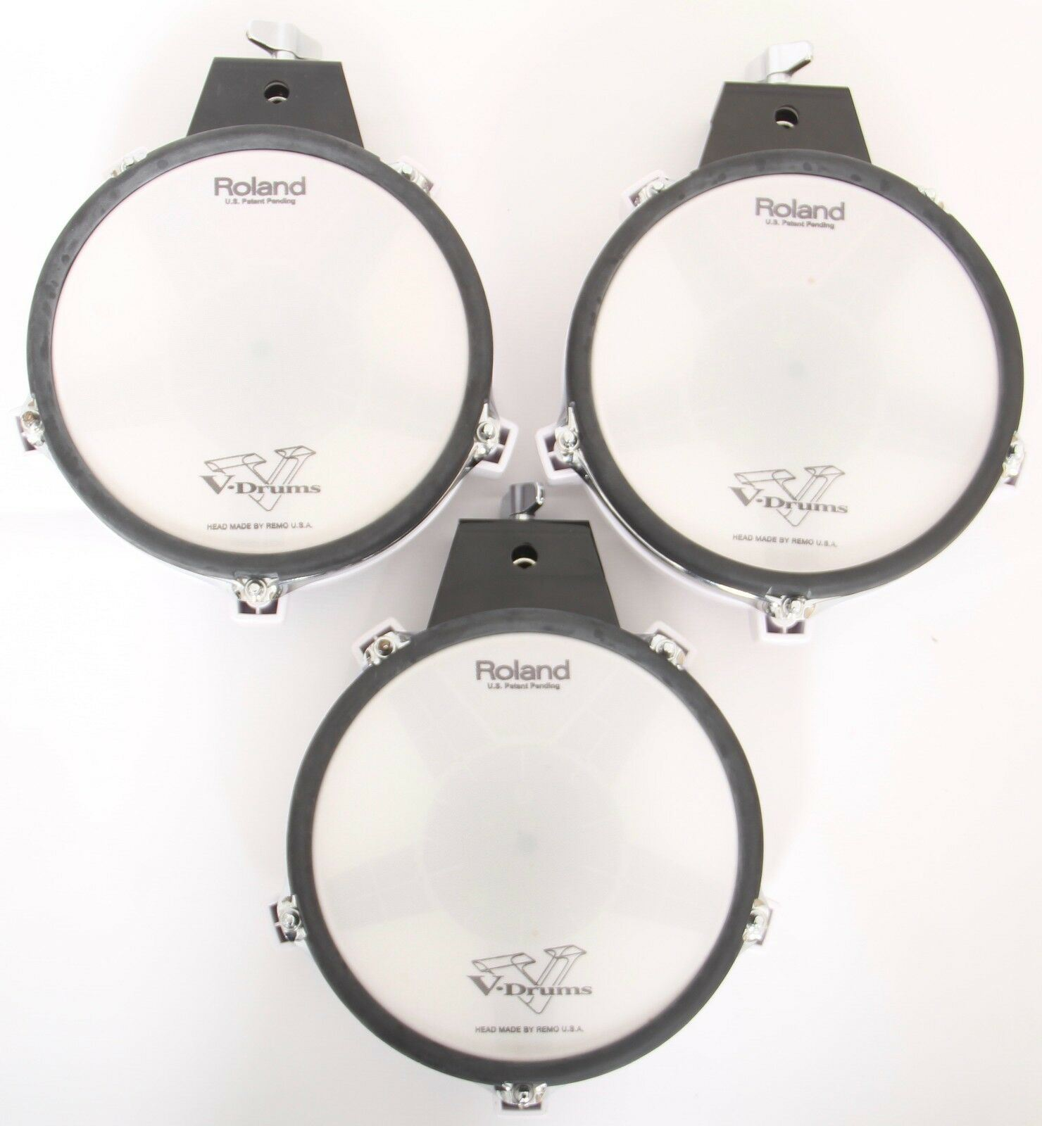 Roland PD-7 Electronic Drum Trigger Rubber Pads Free Shipping!