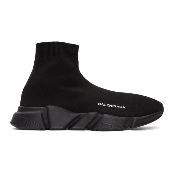 0680b40b2b7a Balenciaga Speed High-Top Sneakers Black Size 7 8 9 10 11 12 13 Mens Shoes  New