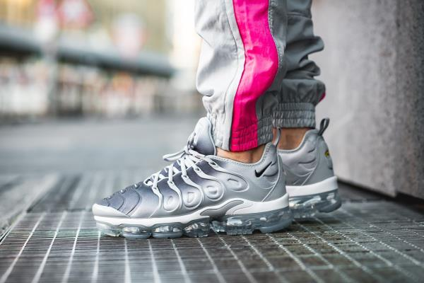 84f3688650 Nike Air Vapor Max Plus Sneakers Wolf Grey Size 8 9 10 11 Mens Shoes New.  100% AUTHENTIC OR MONEY BACK GUARANTEED