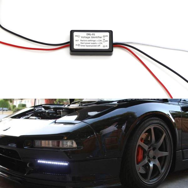 Easy Install LED Daytime Running Light Automatic ON/OFF