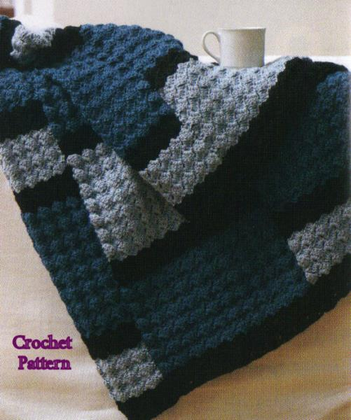 8 Gorgeous Afghans Blankets To Knitcrochet Patterns Pillows