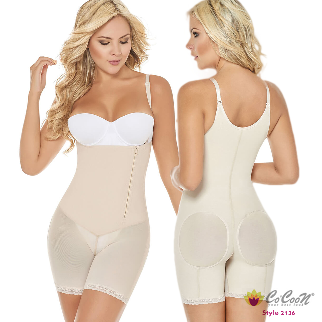 65c8ebdffa05b Women Body Shaper Post Surgery Partum Fajas Colombiana Fit Shapewear Butt  Lifter