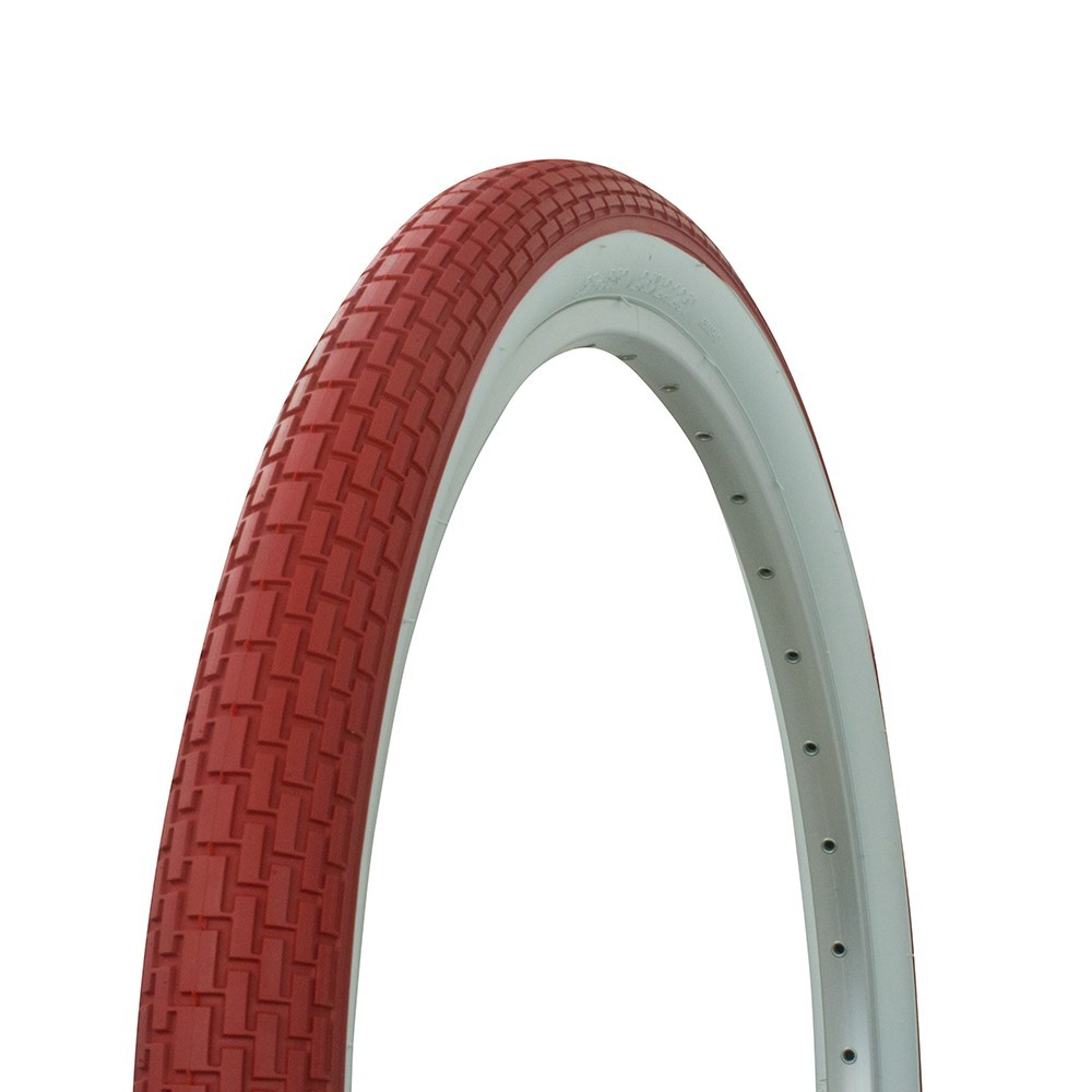 26×2.10 Redwall Bicycle Tires-MTB 2×Tires/&Tubes