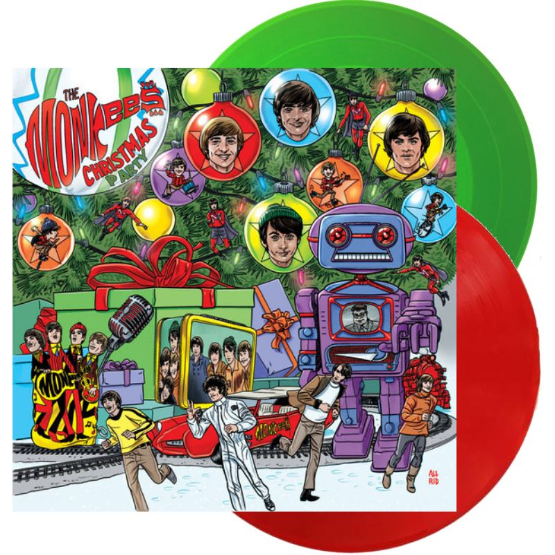 Monkees Christmas Party.Details About The Monkees Christmas Party Red Or Green Colored Vinyl Lp Randomly Picked