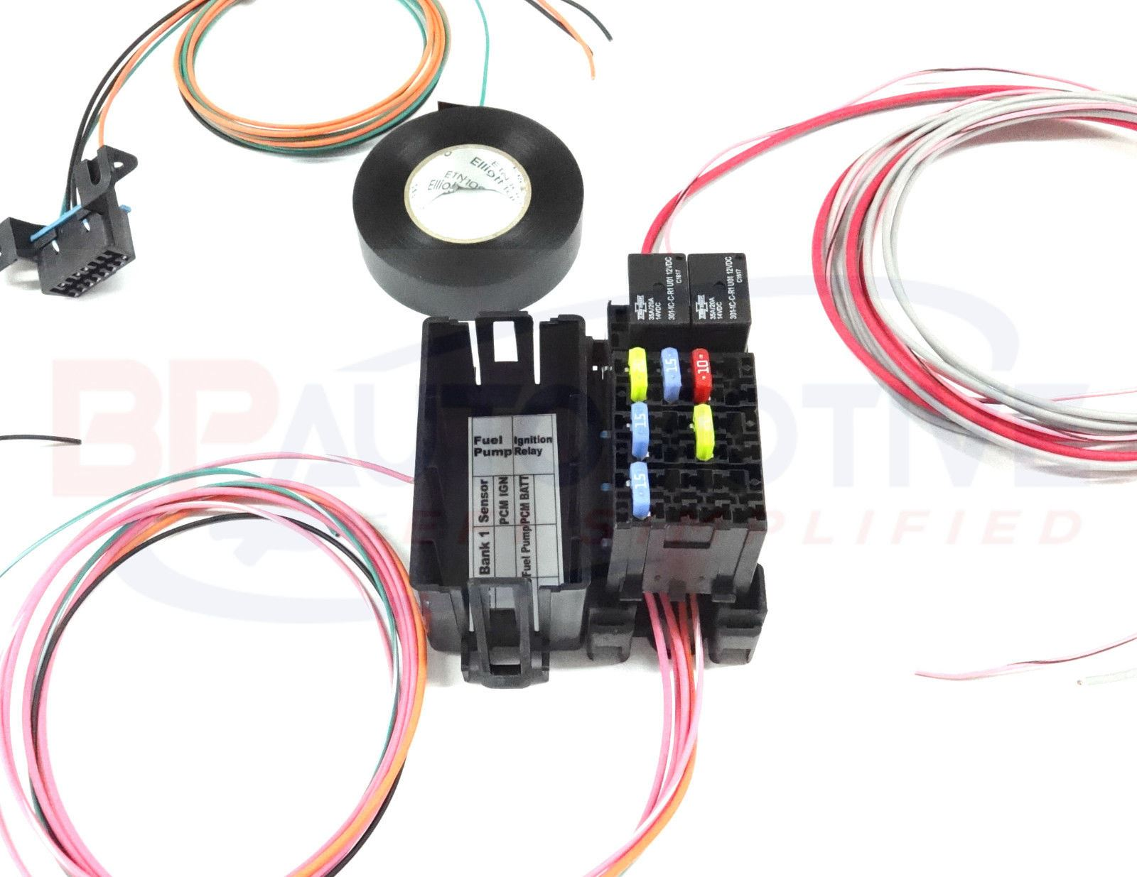 Magnificent Ls Swap Diy Harness Rework Fuse Block Kit For Ls Standalone Harness Wiring Cloud Oideiuggs Outletorg