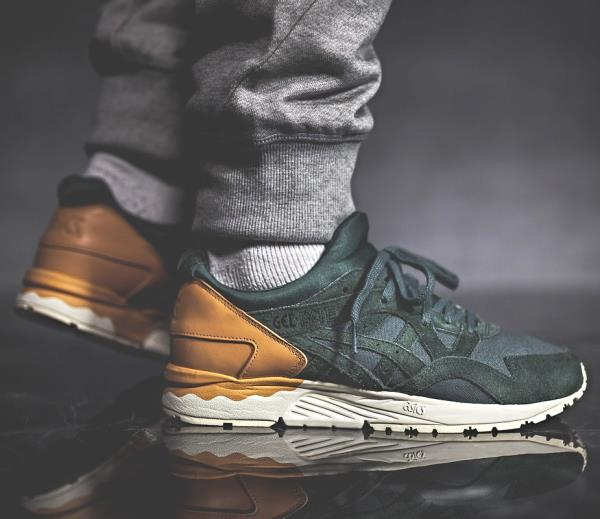 hot sale online 76713 64011 Details about Asics Gel Lyte V Sneakers Dark Forest Size 7 8 9 10 11 Mens  Shoes New