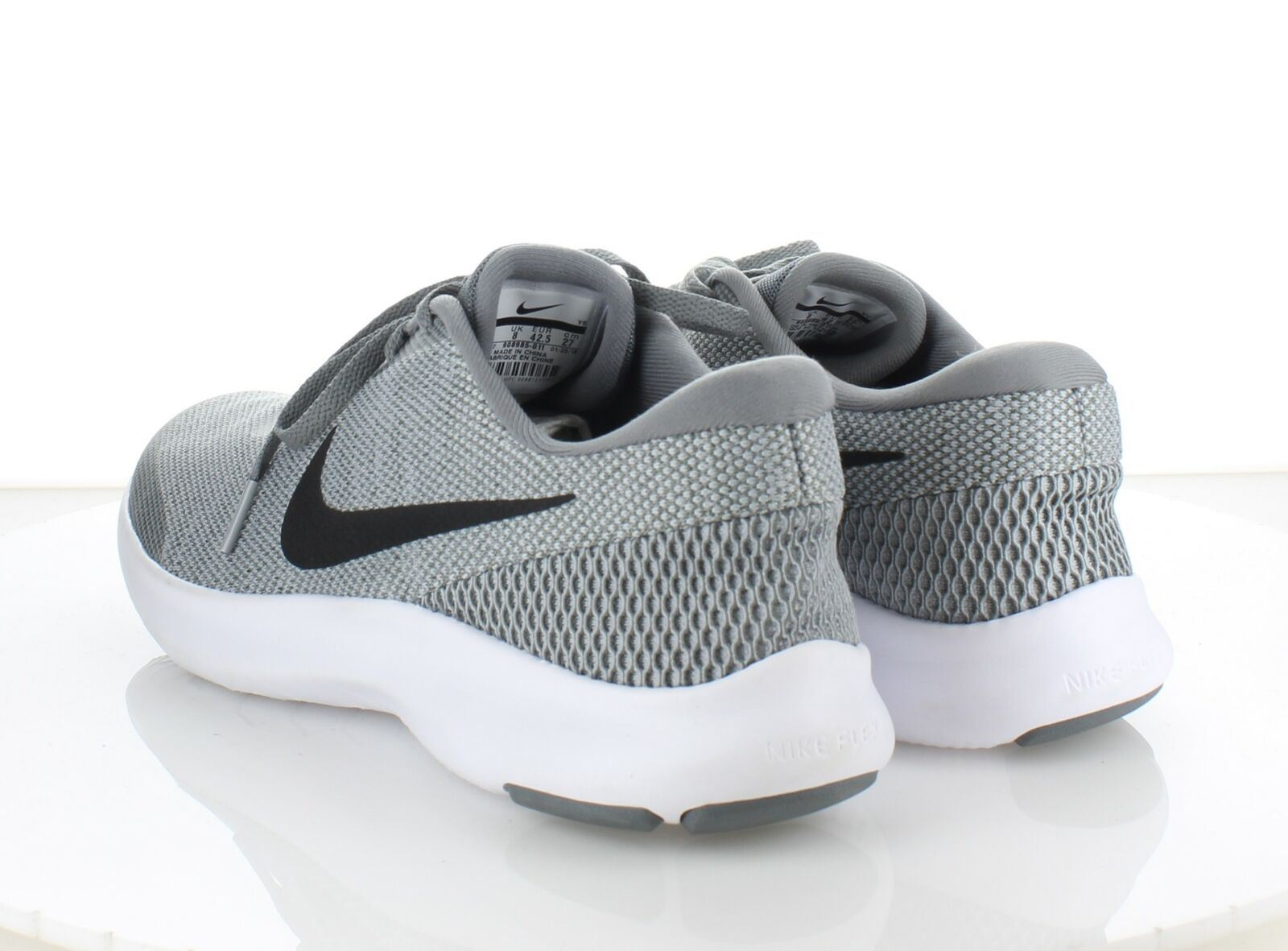 the latest 1c26f 83fcf 1936 NEW Nike Flex Experience RN 7 Grey Black Mesh Running Shoes ...
