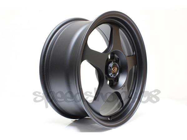 Details about ROTA Black Slipstream Wheels Rims 16X7 +40 4X108 63 35 HB FOR  FORD FOCUS FIESTA