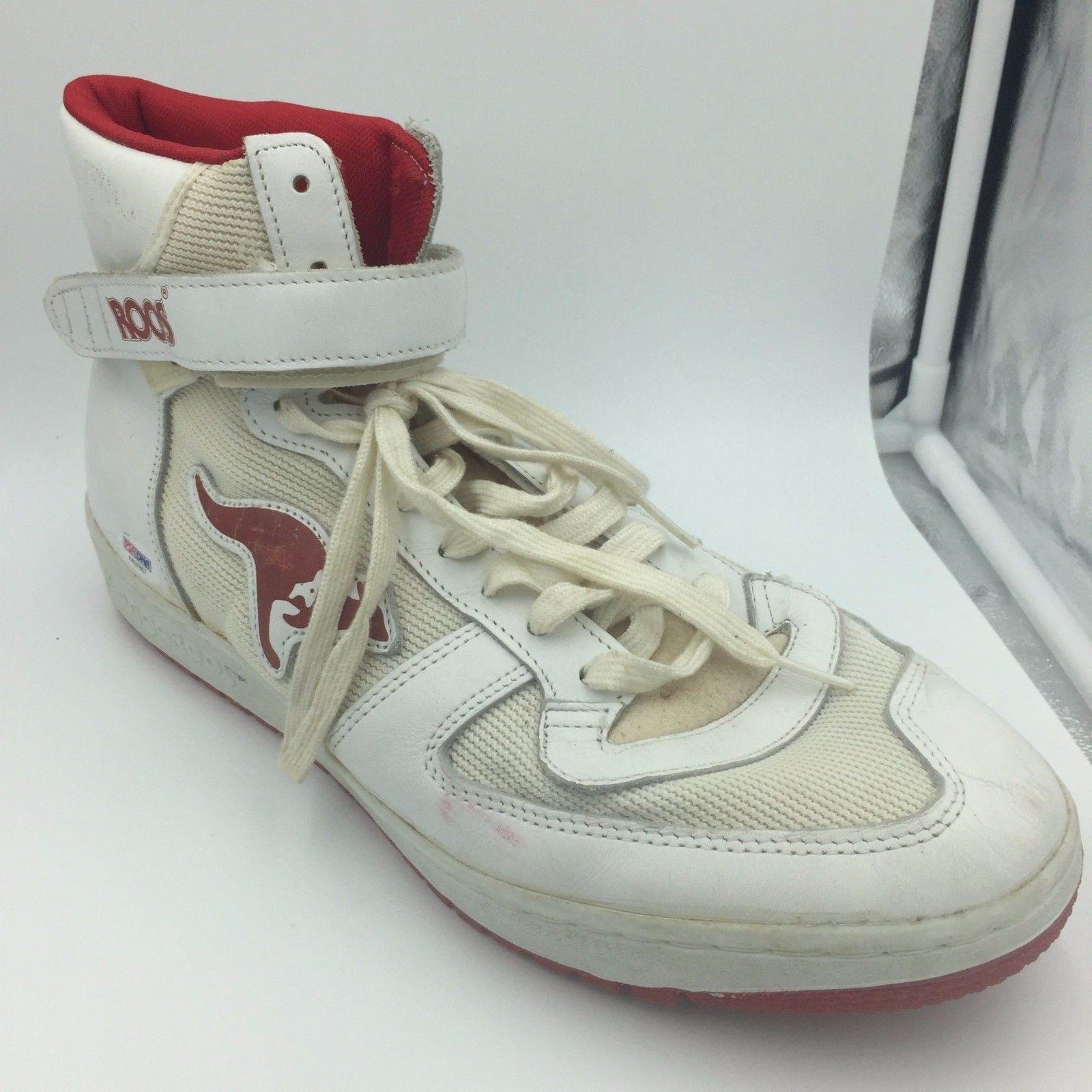 ce940b335c79 1980 s Clyde Drexler Signed Game Used Sneakers Shoes Pair With PSA ...