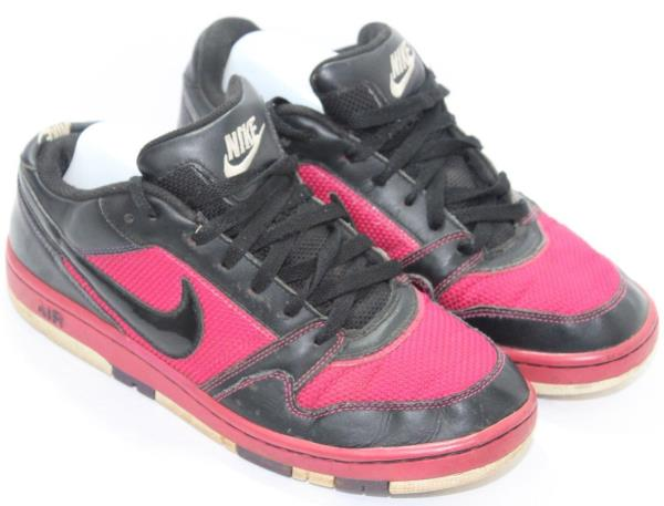 Details about Nike Womens Air Prestige II 394656-056 Low Sneaker Basketball  Shoes Pink Black 8 8ff0a9271d