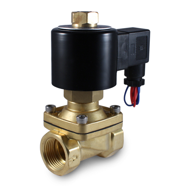 3 4 Quot 12v Dc Normally Open Electric Brass Solenoid Valve 12