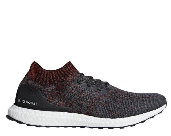 free shipping 955de 7314e DA9163 Mens Adidas UltraBOOST Uncaged Ultra Boost - Carbon Black White Red