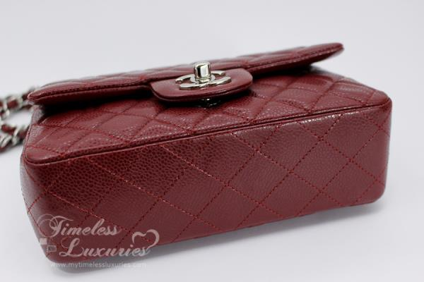 8b59f85d5be9 COMES WITH: CHANEL box, ribbon, camellia, dust bag, felt protector,  booklet, authenticity card