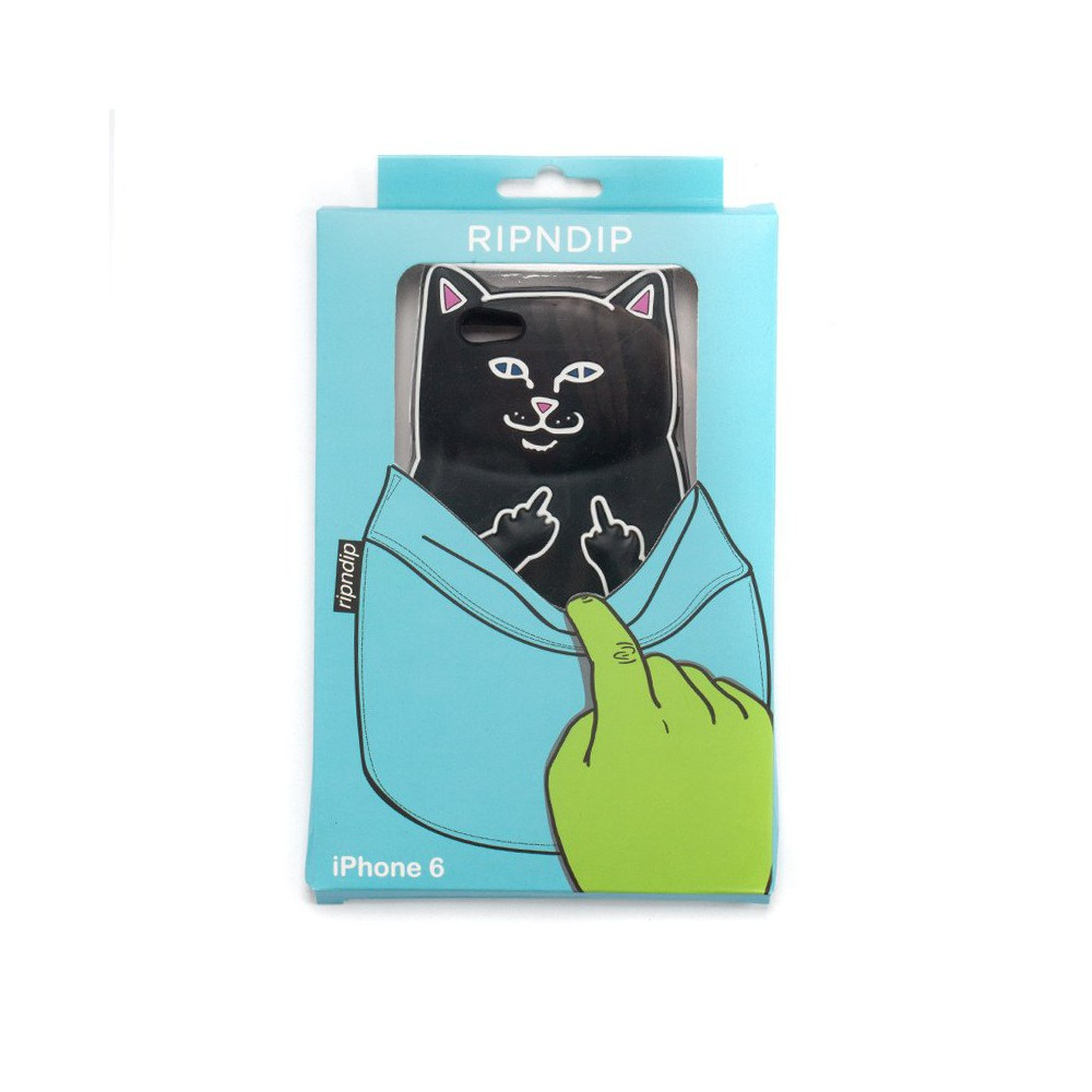 RIPnDIP Lord Nermal iPhone 6 Case Black Cover Rip N Dip Skateboard Brand