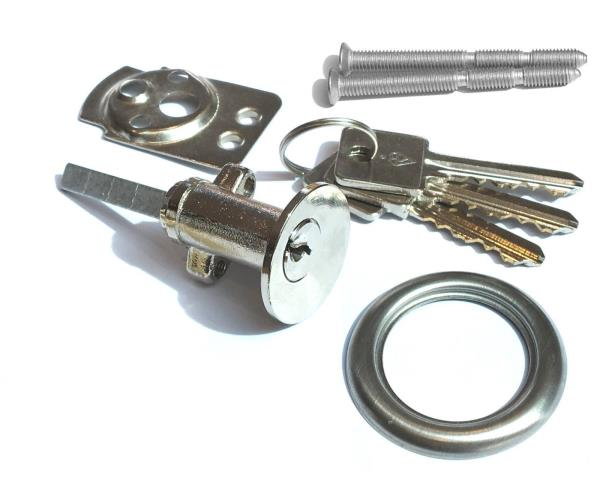 Security Rim Cylinder Door Lock With 6 Pins For Night