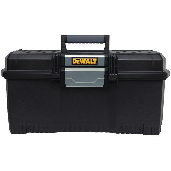 DEWALT TOOL BOX 24 In 1 Latch Touch Garage Cabinet Storage Organizer Chest Case