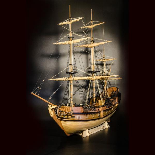 Details About Black Pearl Scale 1 75 21 533mm Wood Ship Model Kit