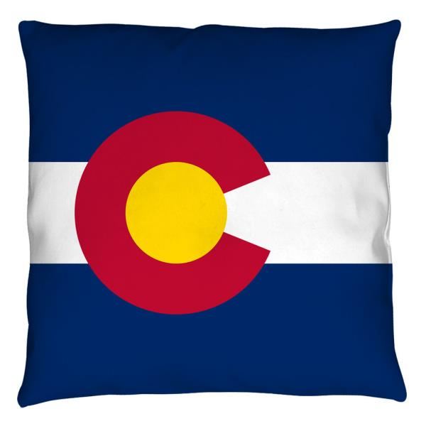 Throw Pillows New Authentic Colorado Flag Throw Pillow