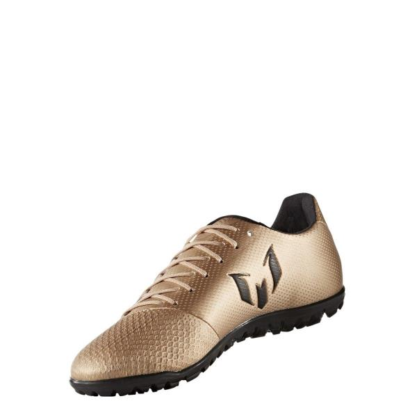 BA9856  Mens Adidas Messi 16.3 TF Turf Cleats Shoes - Copper ... 6e6ee059025f0