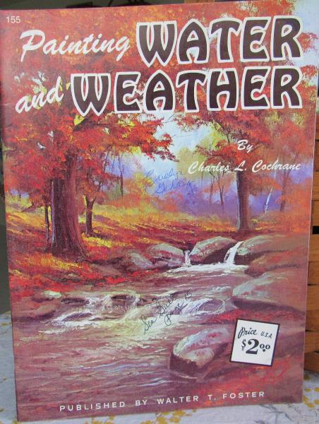 Vtg Walter Foster How To Painting Water And Weather 155 Art