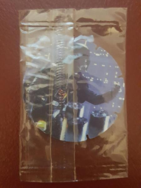 Star Wars 1996 SE Walkers Crisps MIP SEALED At-At Walkers Tazo No.16