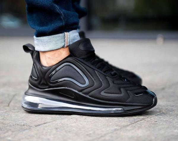 Details about NIKE Air Max 720 Total Eclipse BLACK Size 8 9 10 11 12 Mens Shoes AO2924 004