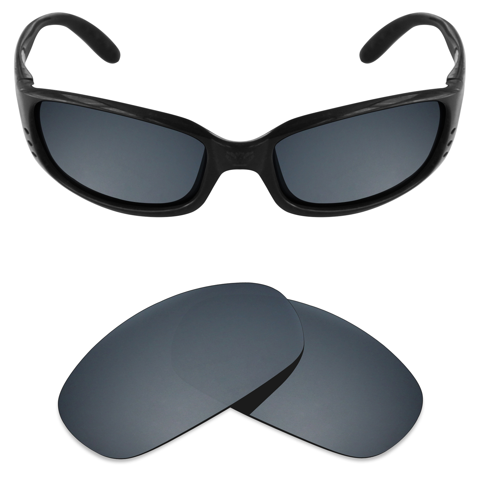 a20c9485f203 Mryok Anti-Scratch Polarized Replacement Lenses for Costa Del Mar Brine -  Opt.
