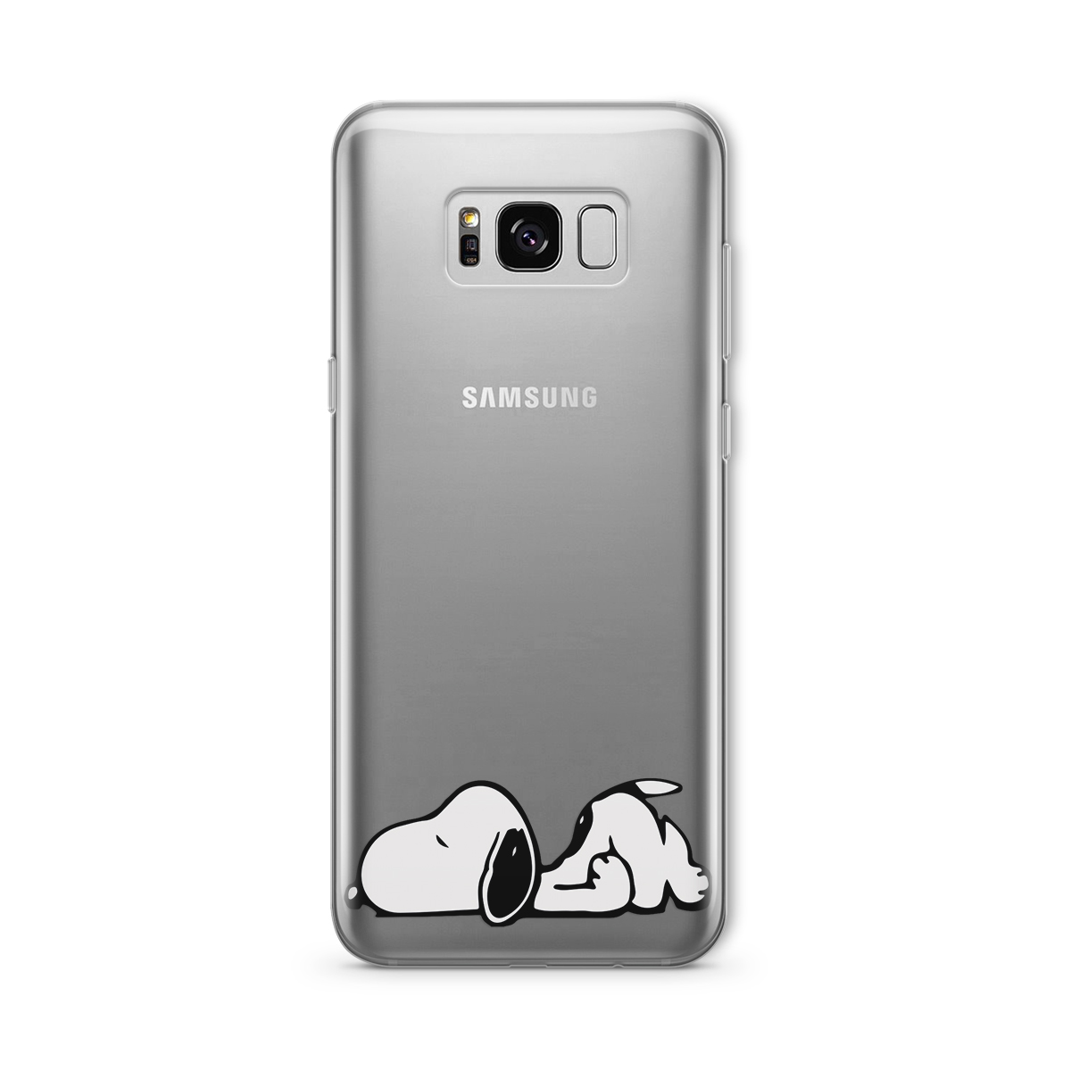 cute snoopy dog samsung s9 plus silicone case animal. Black Bedroom Furniture Sets. Home Design Ideas