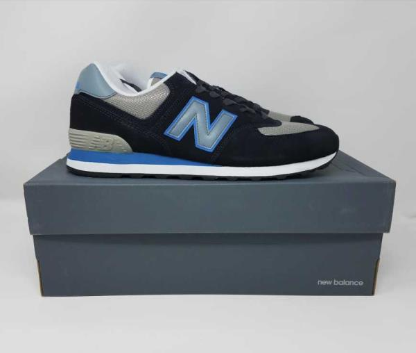 Details about NEW MEN'S 7.5 8.5 9.5 10 NEW BALANCE FOR J CREW 574 SNEAKERS IN DEEP BLUE SHOES