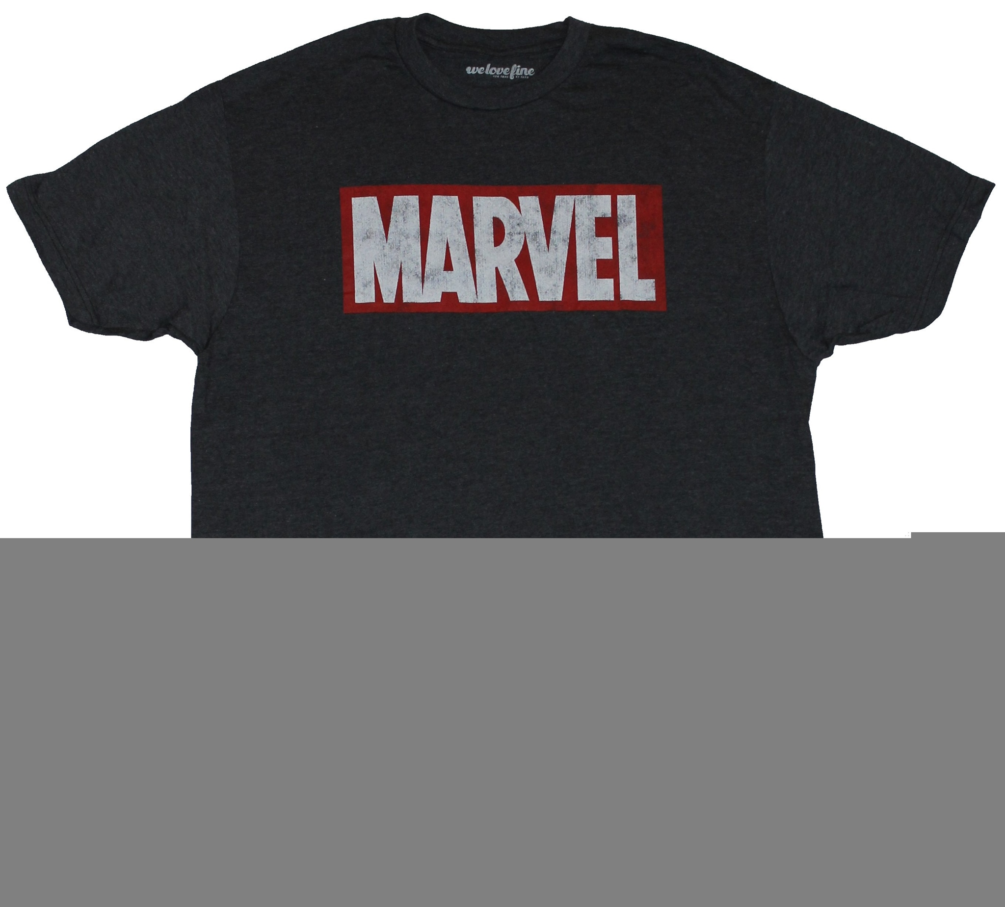 a84d7a47a6 Details about Marvel Comics Mens T-Shirt - Red and White Marvel Logo Box  Image