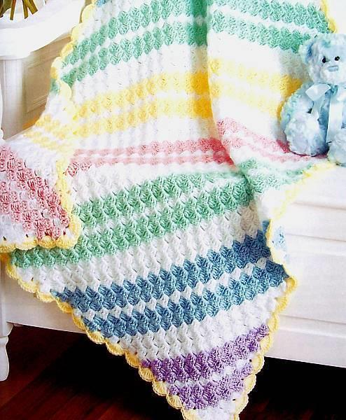 Details about Crochet Baby Afghans Best Of Mary Maxim Patterns Leisure Arts