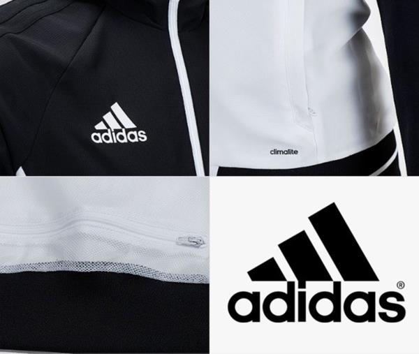 Details about Adidas Men Tiro 17 PRE Training Jacket Black Running Top Shirts Jackets BQ2776