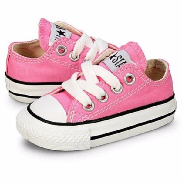 30b581d972e2 Details about Converse Chuck Taylor All Star Ox Pink Infant Toddler Shoes  7J238
