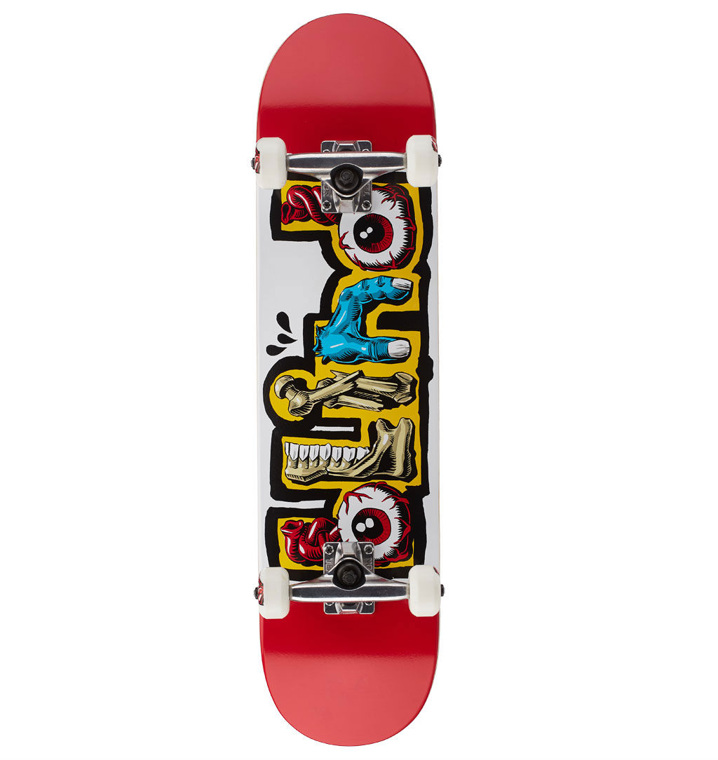 Blind Skateboard Complete Slime Red 7.625 Free Post