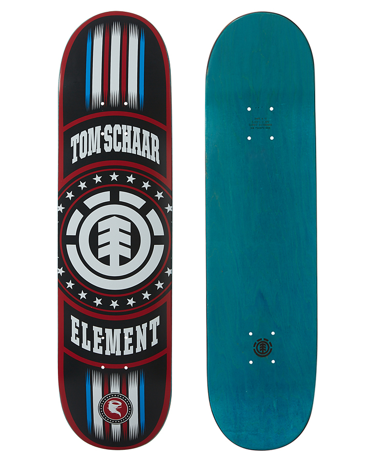 Element Skateboard Deck Tom Schaar Canyon 8 RRP 99 PRO Model FREE GRIP & FREE POST