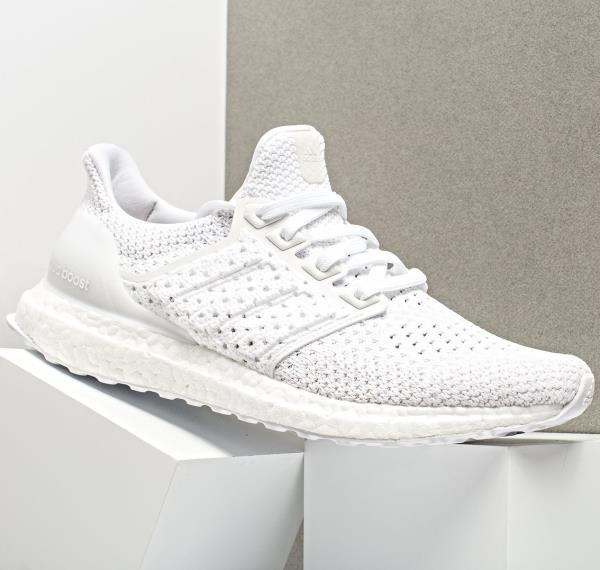 sports shoes 6df52 65209 Details about ADIDAS ULTRA BOOST CLIMA TRIPLE WHITE PK PRIMEKNIT SIZE 7-12  NMD PARLEY LTD MENS