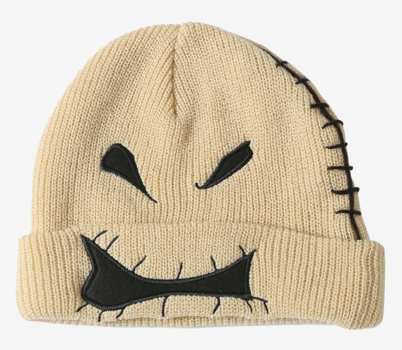 ebdd395769cb6 New Disney The Nightmare Before Christmas Oogie Boogie Face Watchman Beanie  Hat. click thumbnails above to enlarge