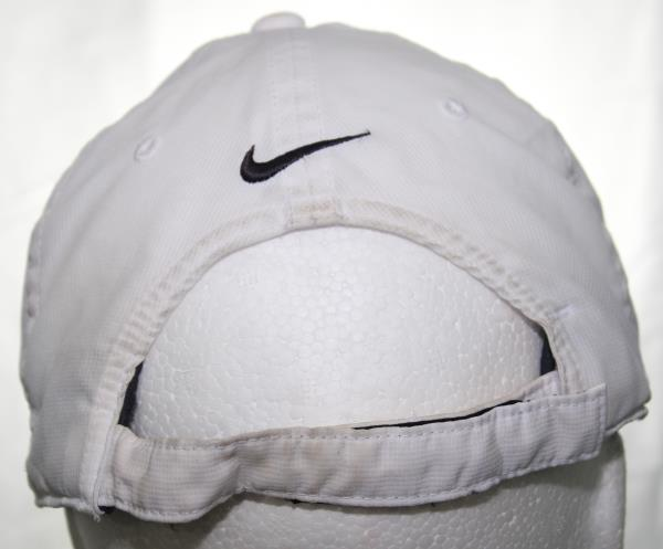Details about New England Patriots NFL Football Cap Nike Golf White  Polyester Strapback Hat 105bc48e4