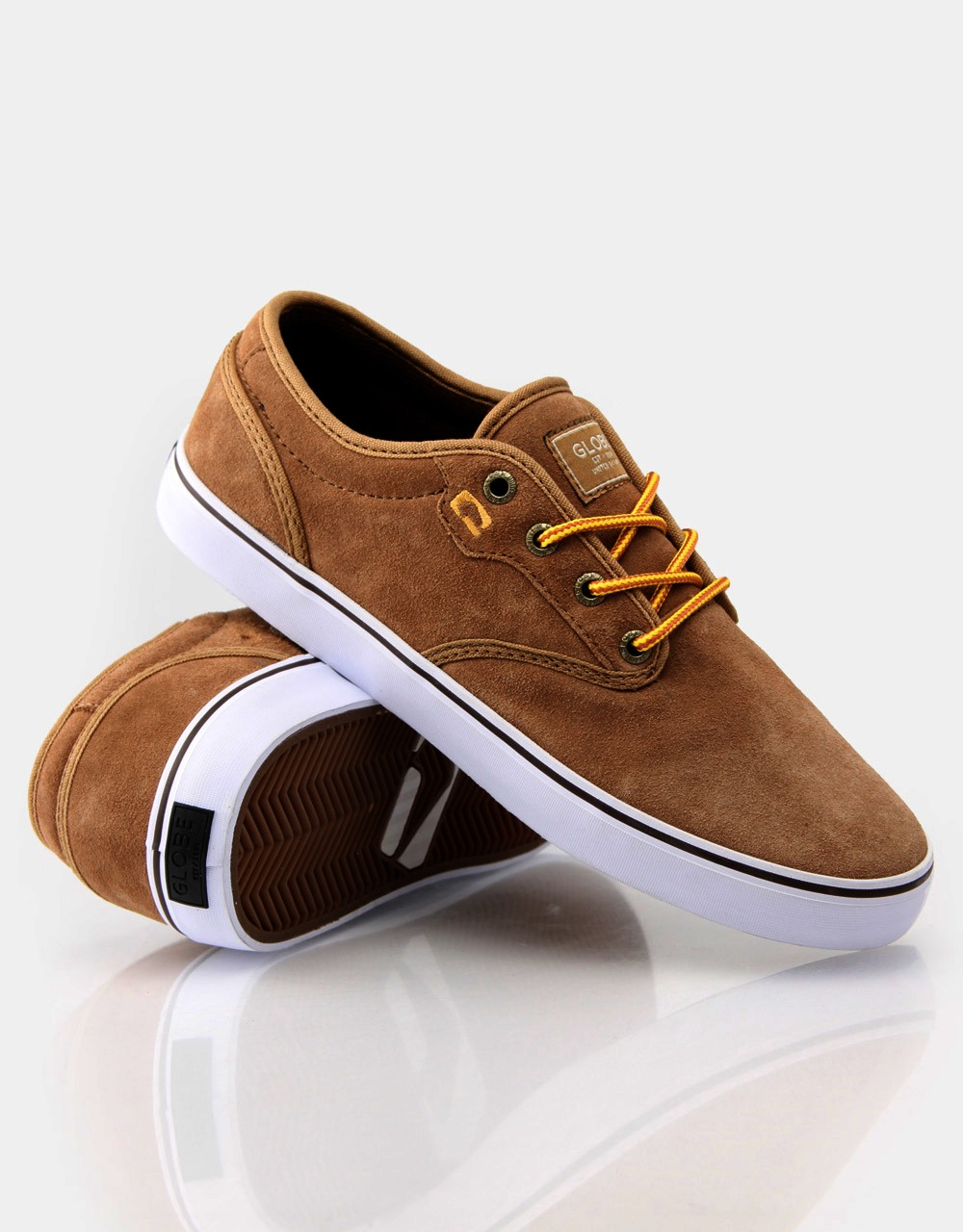 Globe Shoes Motley Golden Brown FREE POST New Skateboard Sneakers USA Size