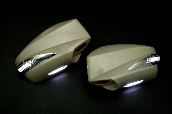 Scion Fr S Subaru Brz Painted Side Mirror Cover Drl White