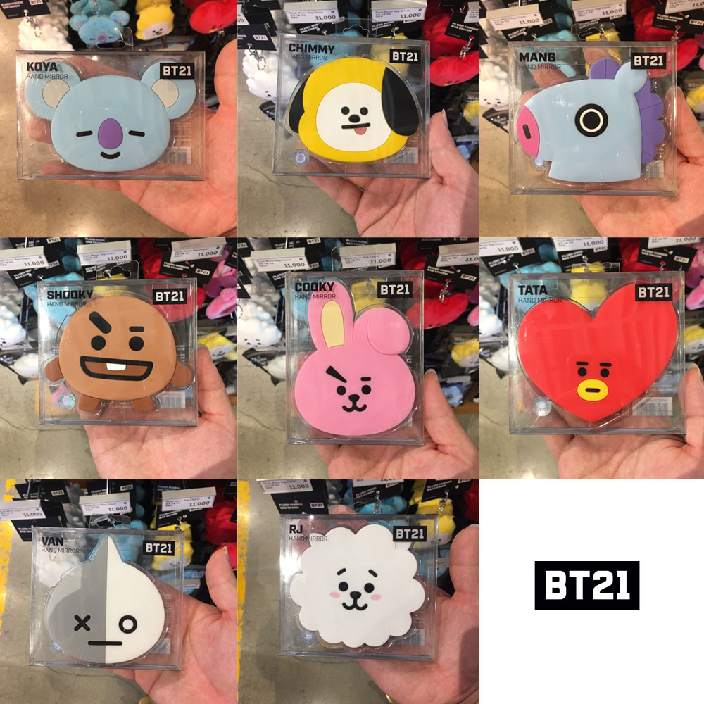 BTS BT21 Official Authentic Goods Fashion Mask COOKY TATA CHIMY KOYA SHOOKY Etc