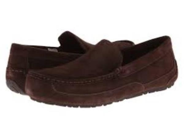 97243ad33db Details about Ugg Australia Alder Espresso Brown Suede 1003419M/ESP Men's  Loafer Casual Shoes