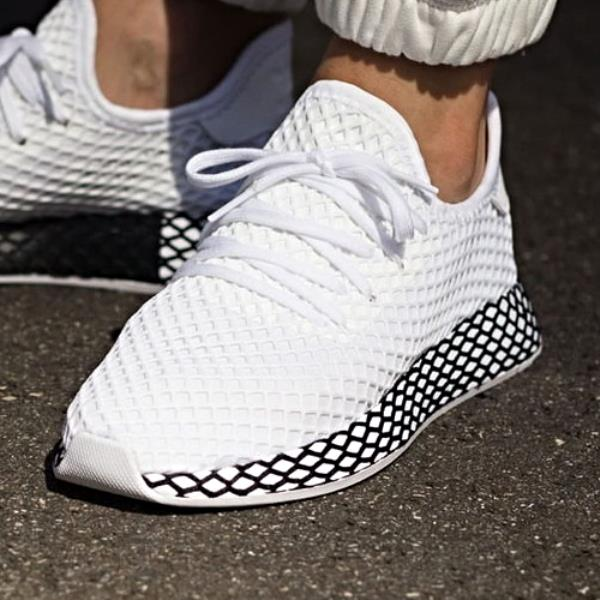 the best attitude 3c7df 6b20e Adidas Deerupt Runner Sneakers Future White Size 8 9 10 11 12 Mens NMD  Boost New